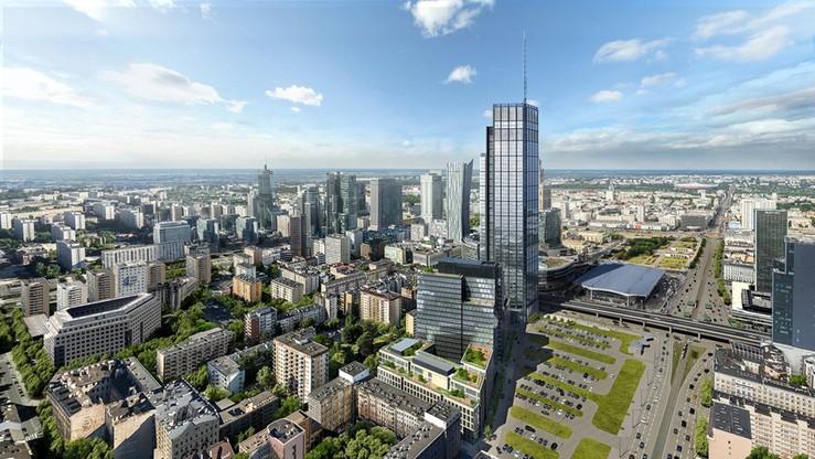 Najwyższy budynek w UE stanie w Polsce. Punkt widokowy dwa razy wyżej niż w Pałacu Kultury