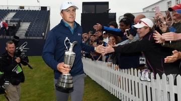 2017-07-23 Spieth najlepszy w golfowym British Open