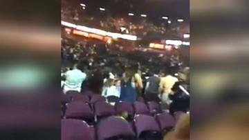 Panika i przerażenie. Nagranie z momentu wybuchu w hali Manchester Arena
