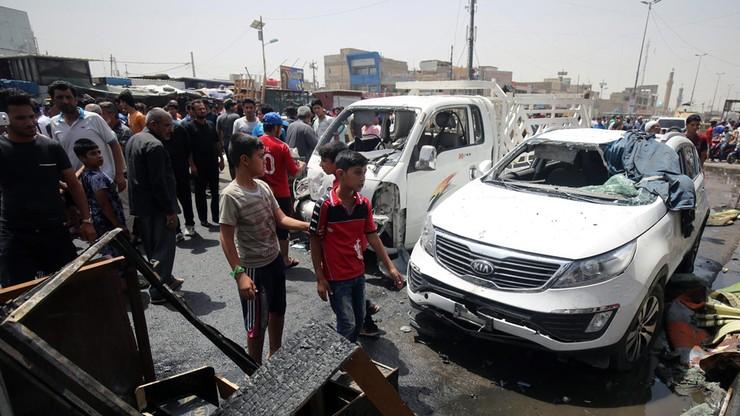 Seria zamachów bombowych w Bagdadzie
