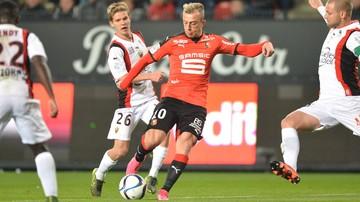 2015-12-03 Ligue 1: Przegrana Rennes, 60 minut Grosickiego