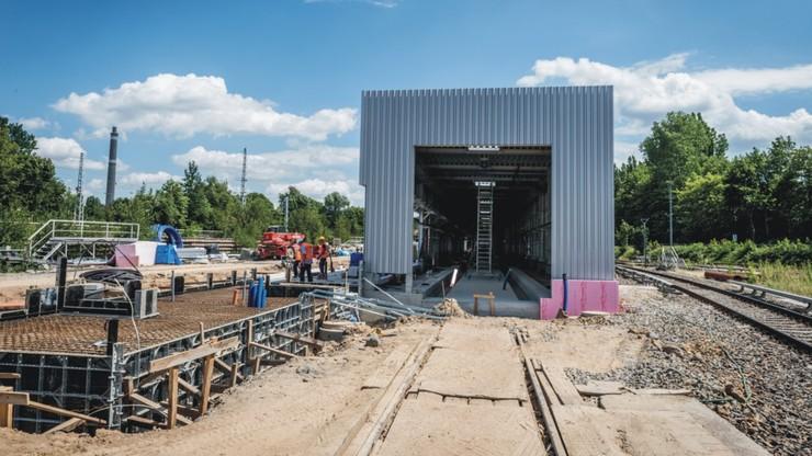 Polacy zbudowali ekologiczną myjnię dla pociągów w Berlinie