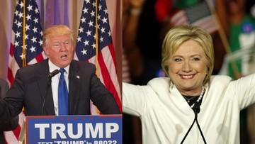 """02-03-2016 05:43 Prawybory w USA: Clinton i Trump wygrywają w """"Superwtorek"""""""