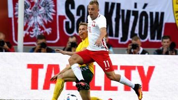 06-06-2016 22:35 Kontuzja Grosickiego w meczu z Litwą