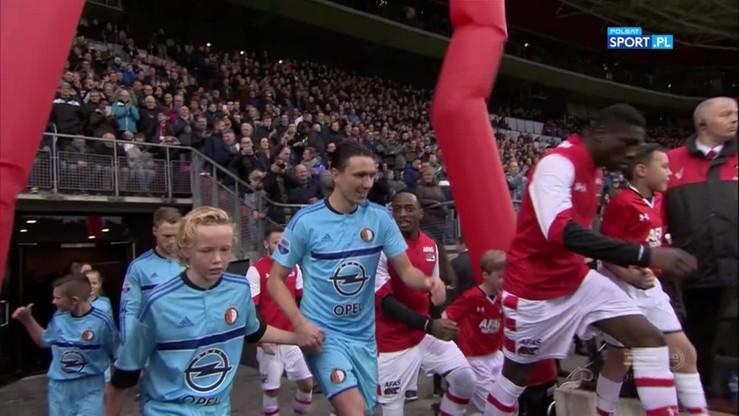 AZ Alkmaar - Feyenoord Rotterdam 0:4. Skrót meczu