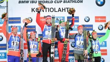 2017-03-12 PŚ w biathlonie: Zwycięstwo Austriaków w sprincie par mieszanych