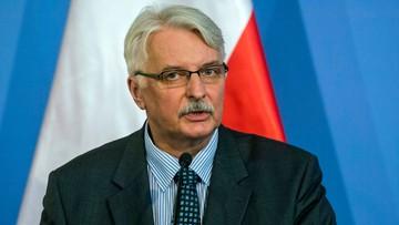 Szef MSZ: Komisja Wenecka to nie sąd. Wydaje opinie, a nie wyroki