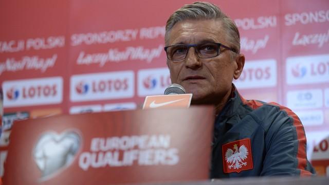 Nawałka: mecz z Serbią to konkretny sprawdzian przed Euro