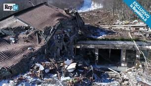 Krajobraz po katastrofie. Wstrząsające zdjęcia po lawinie we Włoszech