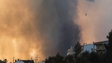 20-08-2017 20:21 Portugalia: rozbił się śmigłowiec uczestniczący w akcji gaśniczej. Zginął 51-letni pilot