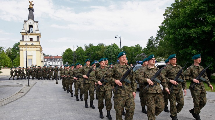 Pierwsi żołnierze Wojsk Obrony Terytorialnej złożyli przysięgę