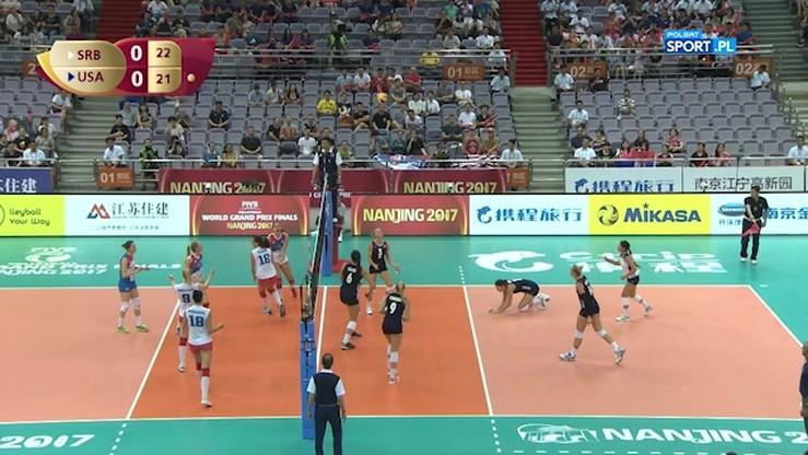 Serbia - USA 3:2. Skrót meczu