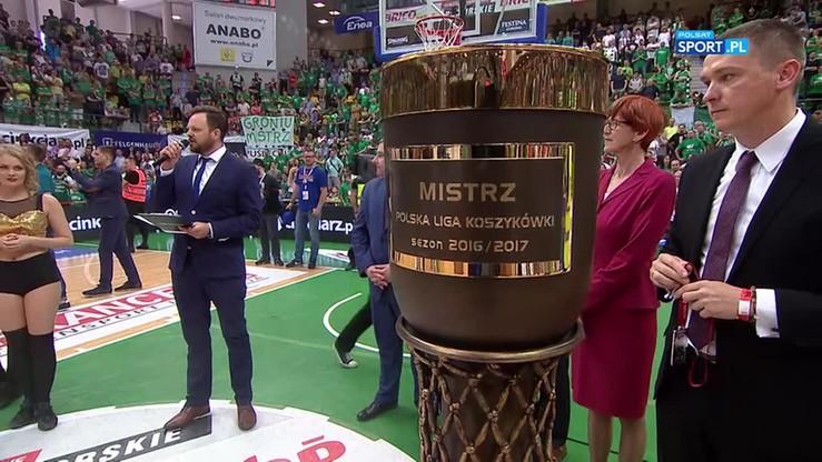 Ceremonia wręczenia złotych i srebrnych medali PLK