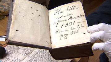 2017-04-24 Otworzyli kościelne szafy po 70 latach. Znaleźli... Bibilię z 1531 roku