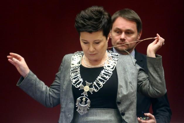 Hanna Gronkiewicz-Waltz już zaprzysiężona