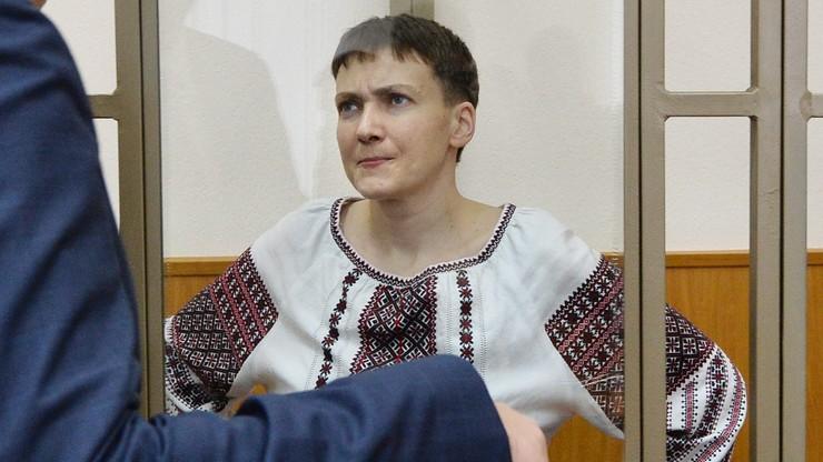 Rosja: Sawczenko zaostrza głodówkę. Nie będzie przyjmować napojów