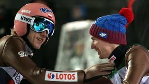Kamil Stoch zwyciężył w Oberstdorfie, świetny konkurs Polaków