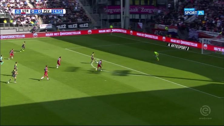 Utrecht - PSV Eindhoven 1:7. Skrót meczu