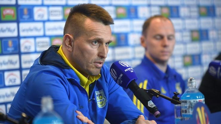Ojrzyński: Do przerwy powinniśmy zapewnić sobie spokój