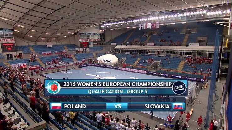 Polska - Słowacja 28:25. Skrót meczu