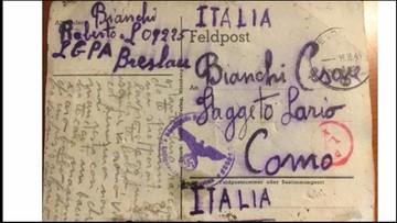 26-10-2016 13:43 Kartka z jenieckiego obozu znaleziona po latach. Nie doczekali ani nadawca, ani adresat
