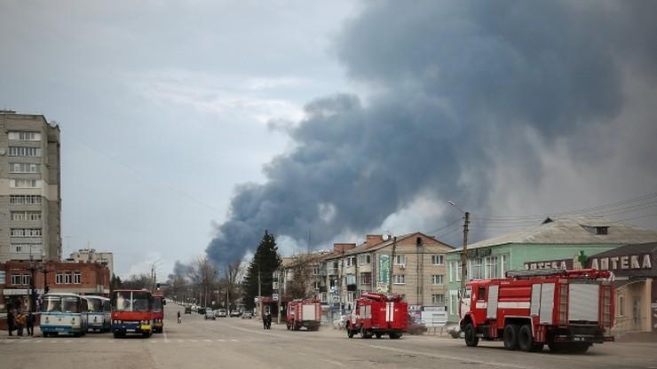 Ugaszono pożar największego składu amunicji na Ukrainie