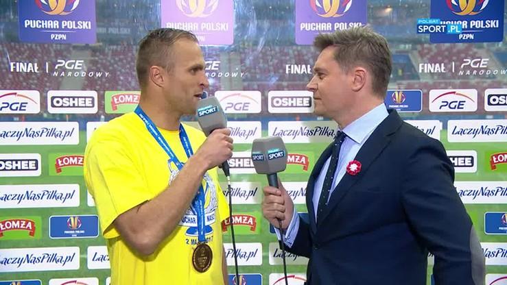 Łukasiewicz: Zdobycie Pucharu Polski to największy sukces w mojej karierze