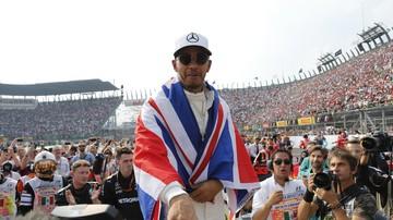 2017-10-30 Hamilton: Czwórka to świetna liczba, ale chcę piątego tytułu