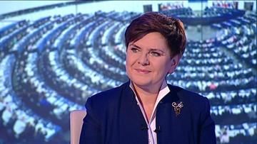 20-01-2016 20:51 Premier Szydło: nie można debaty postrzegać w kategoriach walki