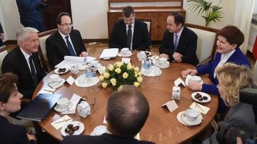 04-04-2016 19:34 Premier spotkała się z sekretarzem generalnym Rady Europy