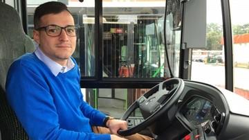 Miejskim autobusem zawiózł kobietę do szpitala. Kierowca z Gdańska uratował pasażerkę