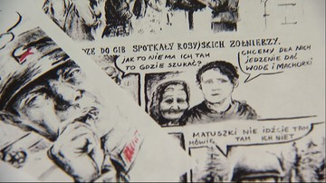 31-05-2016 17:45 Rysunki w celi. Skazaniec stworzył komiks o Obławie Augustowskiej