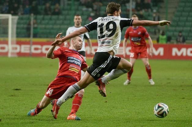 Ekstraklasa piłkarska: Legia - Podbeskidzie 3:0