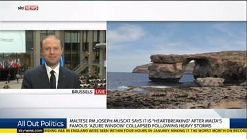 """09-03-2017 15:23 Premier Malty nie wyklucza odbudowy """"Lazurowego Okna"""""""