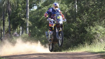 2017-01-03 Rajd Dakar: Australijski motocyklista Price liderem po 2. etapie