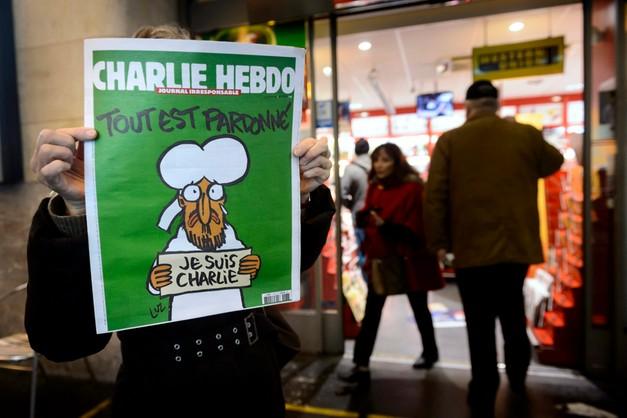 Charlie Hebdo wyprzedany