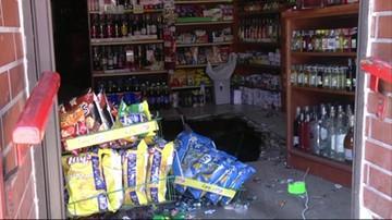 Zapadła się podłoga w sklepie. Cztery osoby poszkodowane