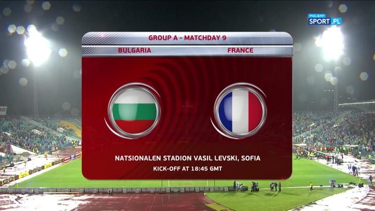 Bułgaria - Francja 0:1. Skrót meczu