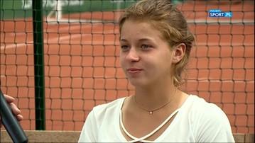 2017-06-20 Chwalińska: Najpierw dwa turnieje w Polsce, później Wimbledon