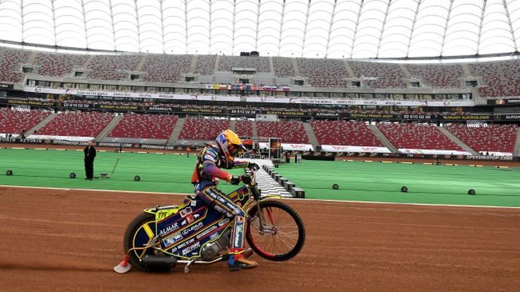Żużlowa GP: Zawodnicy zadowoleni z toru na PGE Narodowym