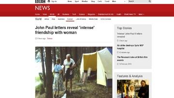 """15-02-2016 14:57 Jan Paweł II i """"sekretne"""" listy do kobiety. Film BBC o przyjaźniach papieża [AKTUALIZACJA]"""