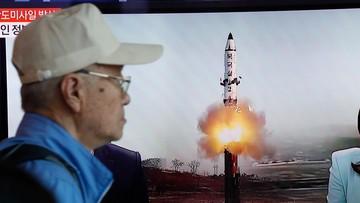 Korea Płn. wystrzeliła pocisk balistyczny. Prezydent Korei Płd. potępił test rakietowy