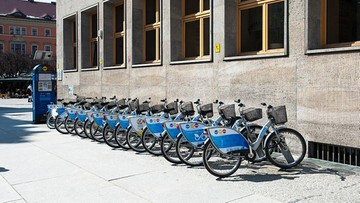 03-12-2016 09:26 Ponad milion rowerów wypożyczonych we Wrocławiu. W rok