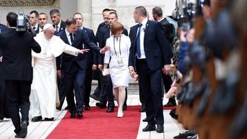 27-07-2016 21:15 Tłumy wiernych, wielkie emocje, atmosfera święta. Pierwszy dzień wizyty papieża na zdjęciach