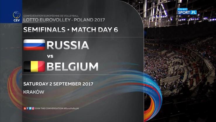 Rosja - Belgia 3:0. Skrót meczu