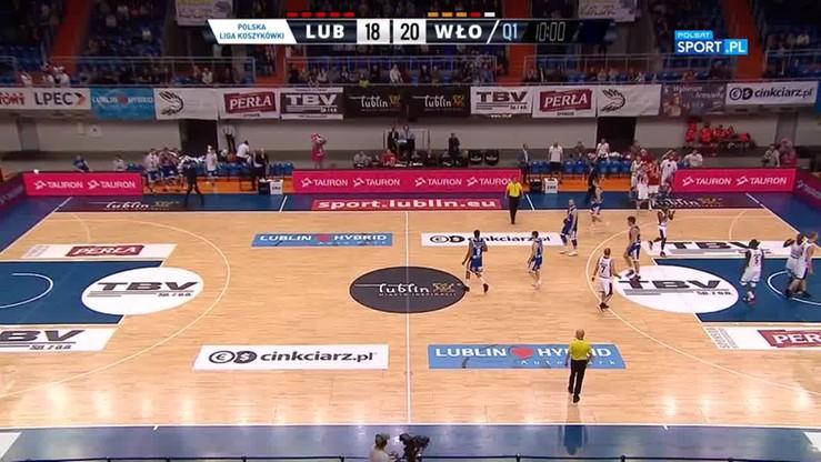TBV Start Lublin - Anwil Włocławek 69:71. Skrót meczu