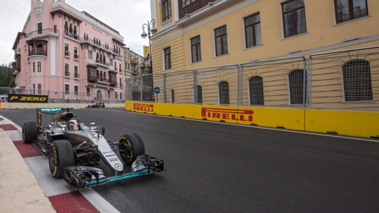 GP Europy: Hamilton najlepszy na ostatnim treningu w Baku