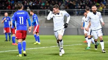 2016-11-12 El. MŚ 2018: Spacerek reprezentacji Włoch. Cztery gole w 45 minut załatwiły sprawę