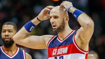 2017-03-21 NBA: Cztery punkty Gortata, kolejna porażka Wizards