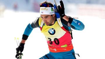 2016-12-10 PŚ w biathlonie: Zwycięstwo Fourcade'a
